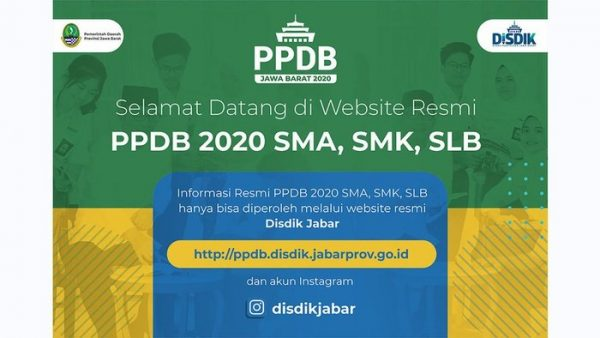 Link Pendaftaran PPDB Jabar Tahap 2: ppdb.disdik.jabarprov.go.id